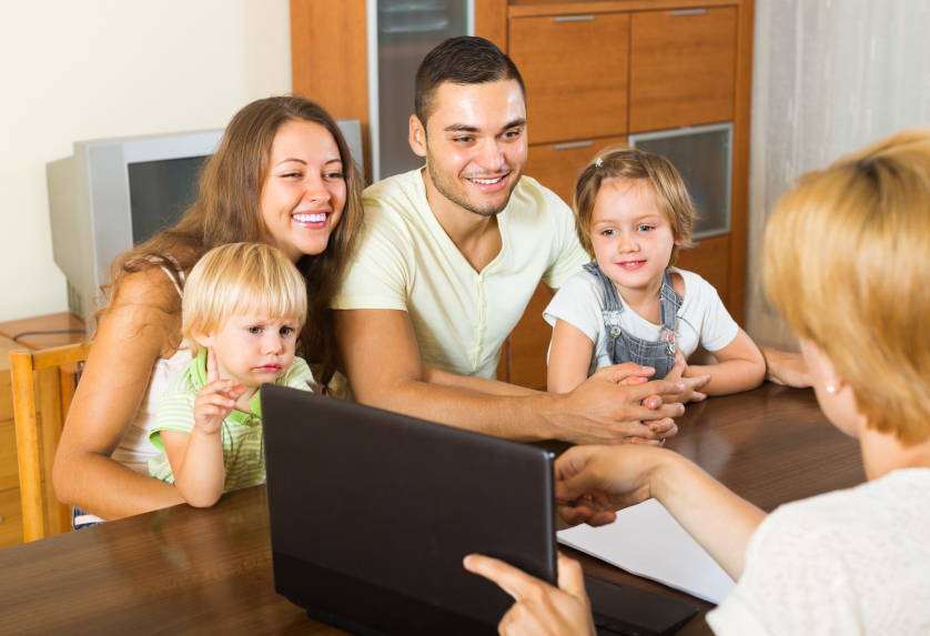Entrevista a familias